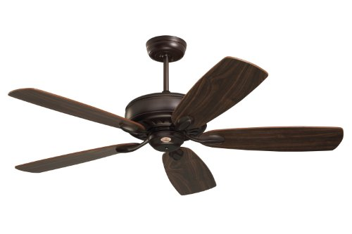Emerson Ceiling Fans CF901ORB Prima Energy Star Ceiling Fan With Wall Control, Light Kit Adaptable, Oil Rubbed Bronze Finish