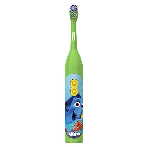 Oral-B Pro-Health Stages Battery Powered Kids Toothbrush featuring Disney's Finding Dory, Extra Soft Bristles, 1 Count