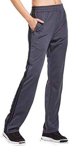 BALEAF Women's Track Pants Athletic Sports Sweat Pants Open Leg Jogger Sweatpants Zippered Pockets Lounge 2