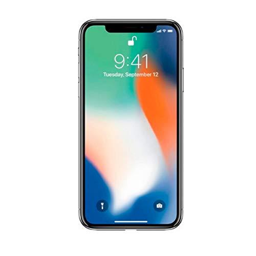 Apple iPhone X, GSM Unlocked, 64GB - Silver (Refurbished)