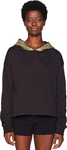 61SaC9sAsKL The Kooples Women's Apparel Size Guide   Take your t-shirt to new levels of style with this The Kooples™ Sweater with Beaded Hood.