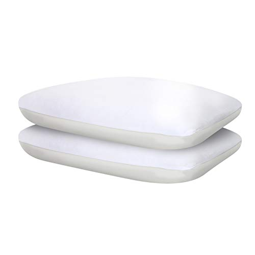 Sealy Comfort Plus Cooling Pillow Two Pack, Standard, White