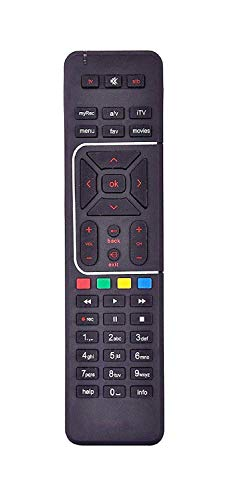Best online products™ Digital TV DTH Remote Compatible with SD and HD Recording(Black) 21