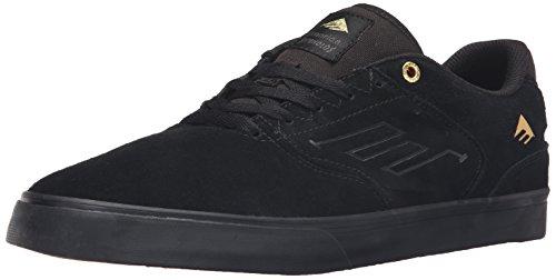 Emerica Men's the Reynolds Low Vulc Skate Shoe, black/tan, 10 Medium US