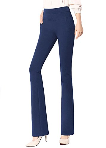 ABCWOO Womens Stretch Yoga Dress Pants for Office Work,High Waisted and Barely Flare 14 Fashion Online Shop gifts for her gifts for him womens full figure