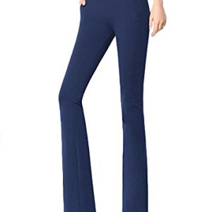 ABCWOO Womens Stretch Yoga Dress Pants for Office Work,High Waisted and Barely Flare 10 Fashion Online Shop Gifts for her Gifts for him womens full figure