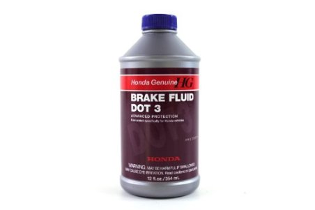Genuine Honda Fluid 08798-9008 DOT 3 Brake Fluid - 12 oz.