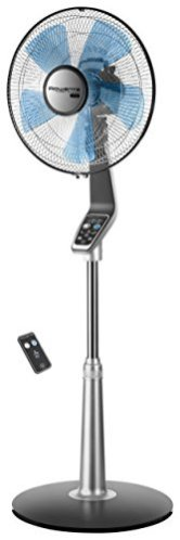 Rowenta-VU5670-Turbo-Silence-Oscillating-Fan-Standing-Fan-5-Speed-Fan-with-Remote-Control