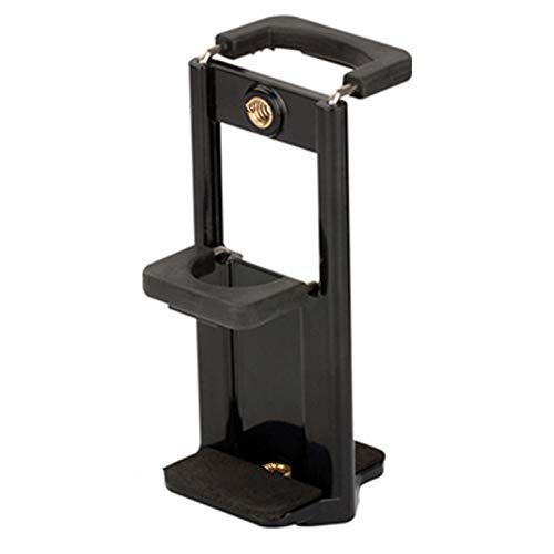 Cellphonez Tripod Mobile Clip Holder Bracket Clamp Mount with 2 Sided Adapter Clamps Stand for Mobile/Tablet Phones 73