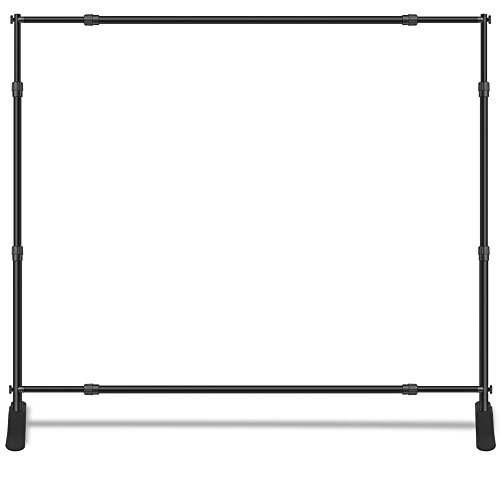 Wall26 Professional Large Tube Telescopic Tube for Photography Backdrop | Trade Show Display - 10'x8'