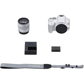 Canon-SL3-18-55mm-is-STM-DSLR-Camera-Kit-Tabletop-Tripod-Lexar-64GB-U3-Memory-Card-Microphone-Filters-Lens-Attachments-and-More