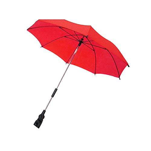 Brittany-Breanna Baby Pram Pushchair Buggy Stroller Carriage Anti UV Rays Sunshade Parasol Sun Shade Canopy Folding Umbrella Accessories,Red