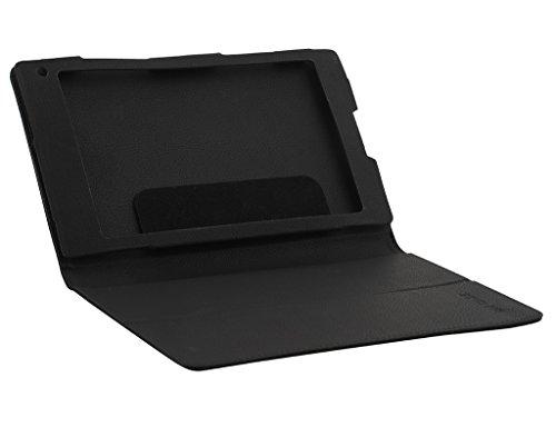 CELZO Tablet Flip Cover Case for Iball Slide Cuboid Tablet (8.0) - (Black) 3