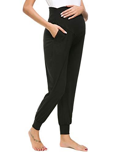 Long maternity yoga pants