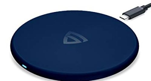 Wireless Charger with Fireproof ABS for iPhone