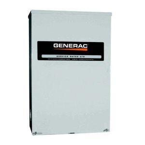 Generac RTSB200A3 RTS 120V/240V 200 Amp Single Phase Service Rated Synergy Smart Transfer Switch