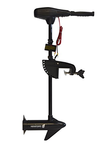 "Newport Vessels NV-Series 36lb Thrust Saltwater Transom Mounted Trolling Electric Trolling Motor w/LED Battery Indicator & 30"" Shaft"
