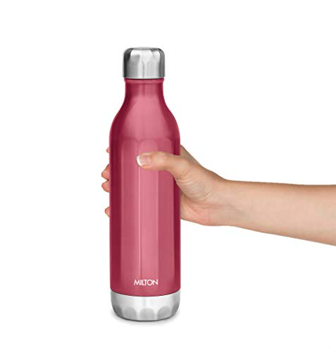31EI%2BId5kTL - Milton Bliss 900 Thermosteel Vaccum Insulated 24 Hours Hot & Cold Water Bottle, 820 ml, Red