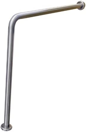 Amazon Com Brey Krause Wall To Floor Grab Bar 24 By 33 Home | Wall To Floor Handrail | Glass | Paint Colors | Staircase | Wrought Iron | Concrete