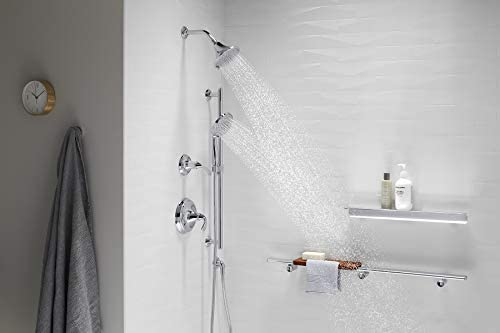 Kohler K-22169-G-CP Forte 1.75 GPM Multifunction Showerhead with Katalyst Air-Induction Technology, Polished Chrome 19