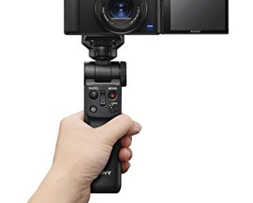 Sony Digital Vlog Camera ZV 1 (Compact, Video Eye AF, Flip Screen, in-Built Microphone, Bluetooth Shooting Grip, 4K Vlogging Camera and Content Creation) – Black