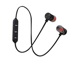 SBA999 A016 Magnetic Wireless Bluetooth Earphones Headset with Mic for Handsfree Calling for All Smartphone Devices