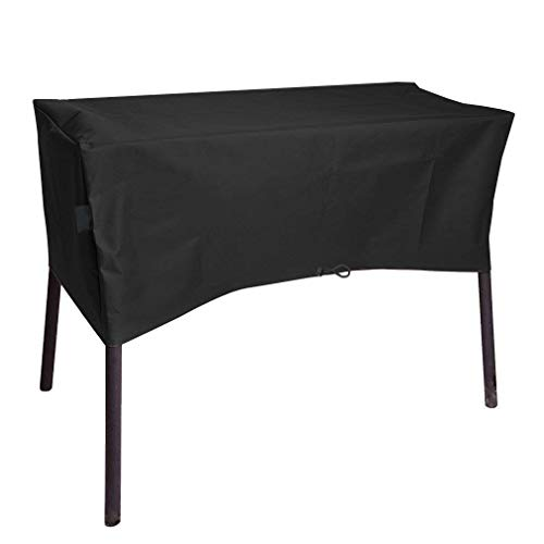 Cookingstar Heavy-Duty Patio Cover for Camp Chef 2 Burners Stove, Fits OSD-60LW, EX-60, CC-60, DL-60, DC-60LW, DH-280, DH-170, SOC-60 (Dimensions: 34.5' x 16' x 16')