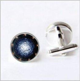 Stargate Portal SG1 Cufflinks,Stargate Portal SG1 Cufflinks,Stargate Portal SG1 Jewelry Cufflinks