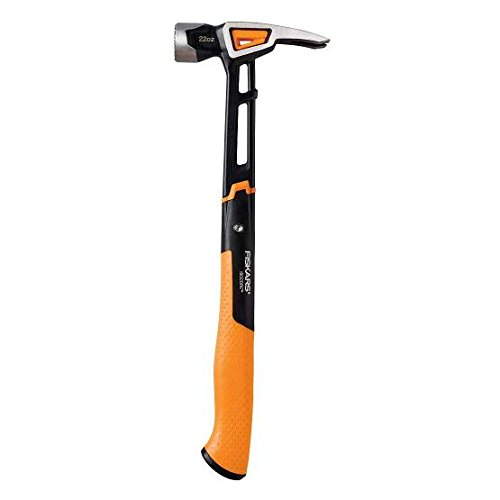 Fiskars IsoCore 22 oz Milled-face Framing Hammer
