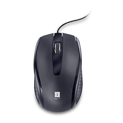 iBall Style 63 Optical Mouse (Black)