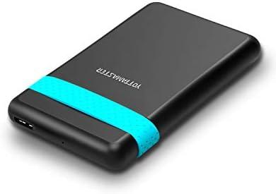 Yottamaster 2.5″ USB 3.0 Externes Festplattengehäuse für 2,5 Zoll HDD/SSD [Hohe Geschwindigkei & Werkzeugfrei & Unterstützt UASP]