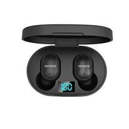 Aiwa AT-X80E(Black) True Wireless Stereo Earphone with Mic