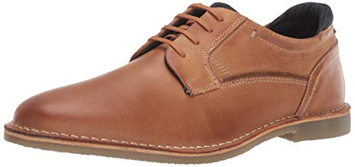 Steve Madden Men's GORREN Oxford, Tan Leather, 9 M US