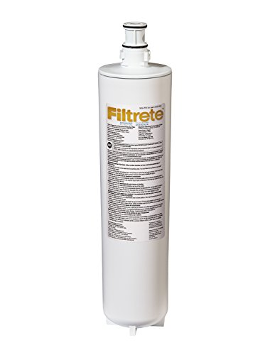 Filtrete Advanced Under Sink Quick Change Water Filtration Filter, 6 Month Filter, Reduces Microbial Cysts, 0.5 Microns Sediment and Chlorine Taste & Odor, (3US-PF01)
