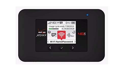 Verizon Jetpack 4G LTE Mobile Hotspot - AC791L (Verizon Wireless)