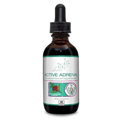 Active Adrenal - Advanced Adrenal Fatigue Supplement | All-Natural Liquid Formula for 2X Absorption | Ashwagandha, B-Vitamins, Magnesium & More