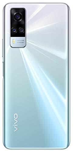 Vivo Y51A (Crystal Symphony, 8GB, 128GB Storage) with No Price EMI/Extra Trade Affords