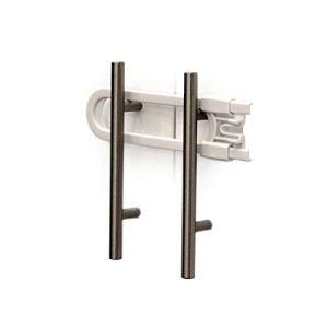 Child Safety Sliding Cabinet Locks (4 Pack) – Baby Proof Knobs, Handles, Doors – U Shape Sliding Safety Latch Lock – Jool Baby