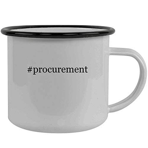 #procurement - Stainless Steel Hashtag 12oz Camping Mug