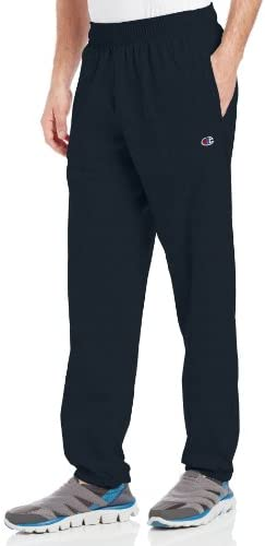 Champion Men's Closed Bottom Light Weight Jersey Sweatpant 1