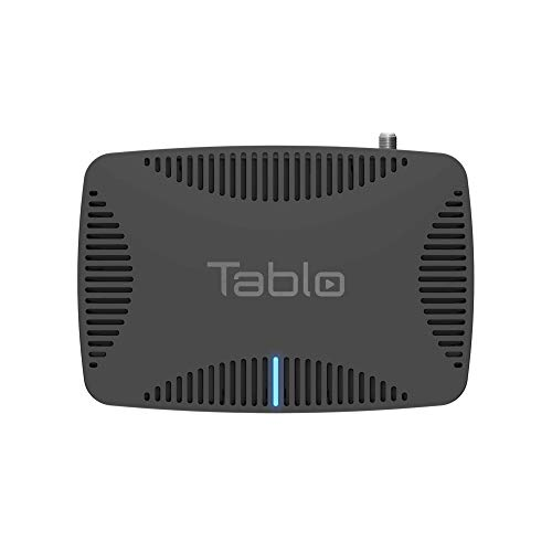 Tablo Quad OTA DVR for Cord Cutters - with WiFi & Automatic Commercial Skip