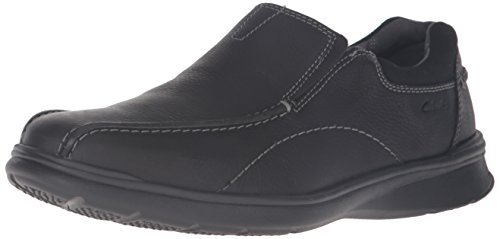 Clarks Men's Cotrell Step Slip-on Loafer,Black Oily,14 M US