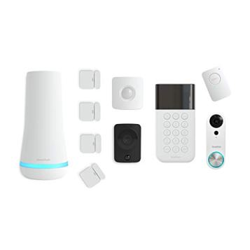 SimpliSafe-SS3-AMZ-5-10-Piece-Wireless-Home-Security-System-wHD-Camera-and-Video-Doorbell-Optional-247-Professional-Monitoring-No-Contract-Compatible-with-Alexa-and-Google-Assistant-pc-White