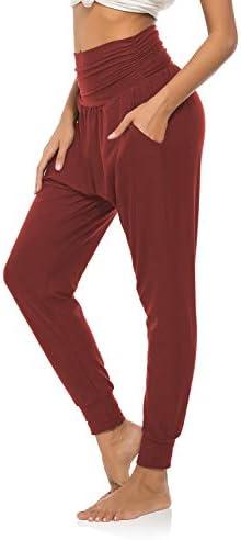 DIBAOLONG Womens Yoga Sweatpants Loose Workout Joggers Pants Comfy Lounge Pants with Pockets 3