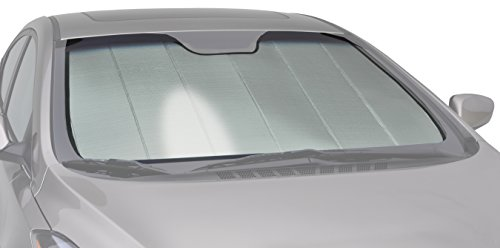 Intro-Tech BM-67-P Silver Custom Fit Premium Folding Windshield Sunshade for Select BMW 3 Series Models