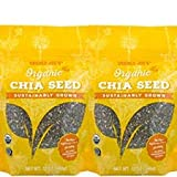 Trader Joe's Organic Chia Seeds 12 oz (Pack of 2)