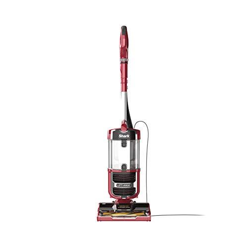 Shark Navigator Upright Vacuum with Lift-Away, Zero-M Anti-Hair Wrap Technology, Anti-Allergen + HEPA Filter and Swivel Steering (ZU561), Red Peony