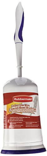 Rubbermaid Toilet Bowl Brush with Caddy Holder, with Caddy...