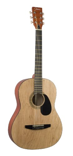 Johnson JG-100-NA Student Acoustic Guitar, Matte Natural