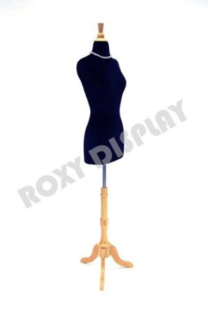 (BS-01NX+JF-FWPB-4) ROXYDISPLAY New Design Female Body Form Size 2-4 with Base